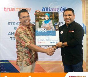 TrueMoney Indonesia Gandeng Allianz Life Indonesia
