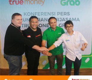TrueMoney Indonesia Dan Grab Jalin Kerjasama