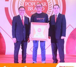 TrueMoney Meraih Penghargaan Indonesia Digital Popular Brand Award 2018