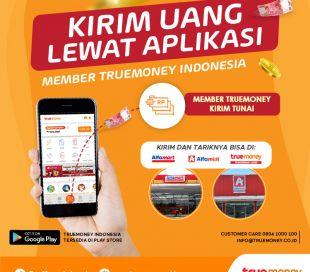 Kirim Uang Tunai Dari Aplikasi MEMBER TrueMoney Indonesia