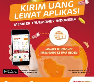 Send Money Overseas using TrueMoney Indonesia Application