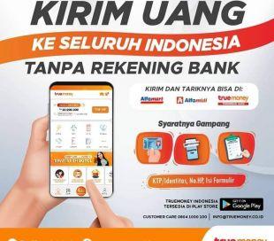 Layanan Kirim Uang TrueMoney Indonesia di Alfamart/Alfamidi