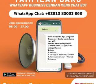 WhatsApp Bisnis TrueMoney