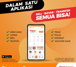 Only in one TrueMoney Indonesia  application