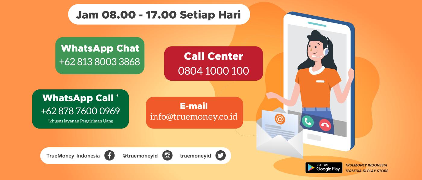 Layanan Pelanggan TrueMoney Indonesia