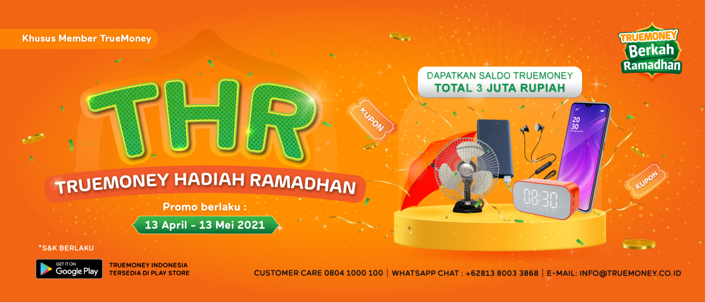 THR : TrueMoney Hadiah Ramadhan