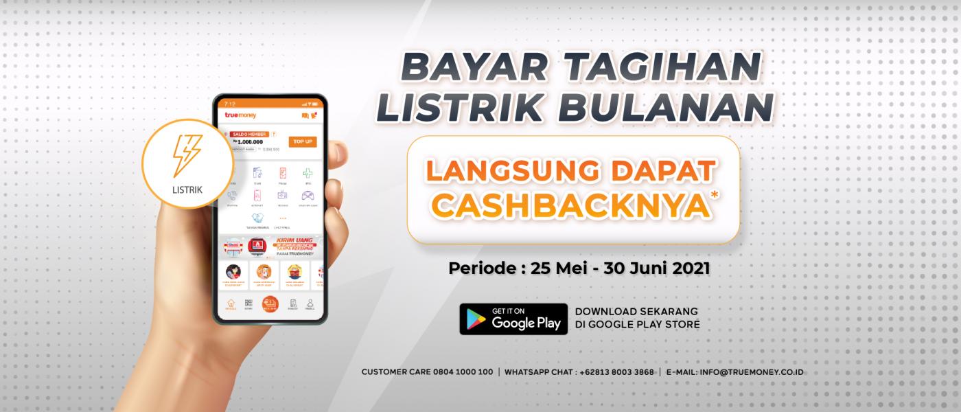 Cashback Tagihan Listrik