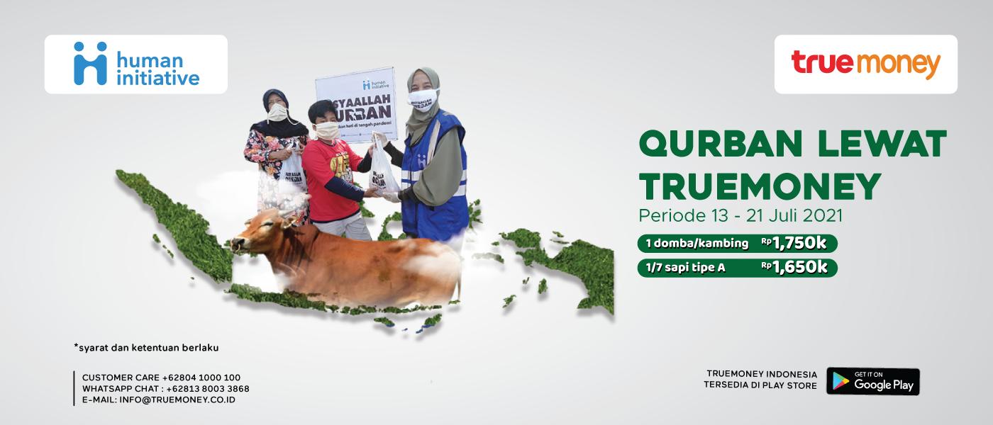Sebar Qurban Nusantara (SQN)  TrueMoney Indonesia X Human Initiative