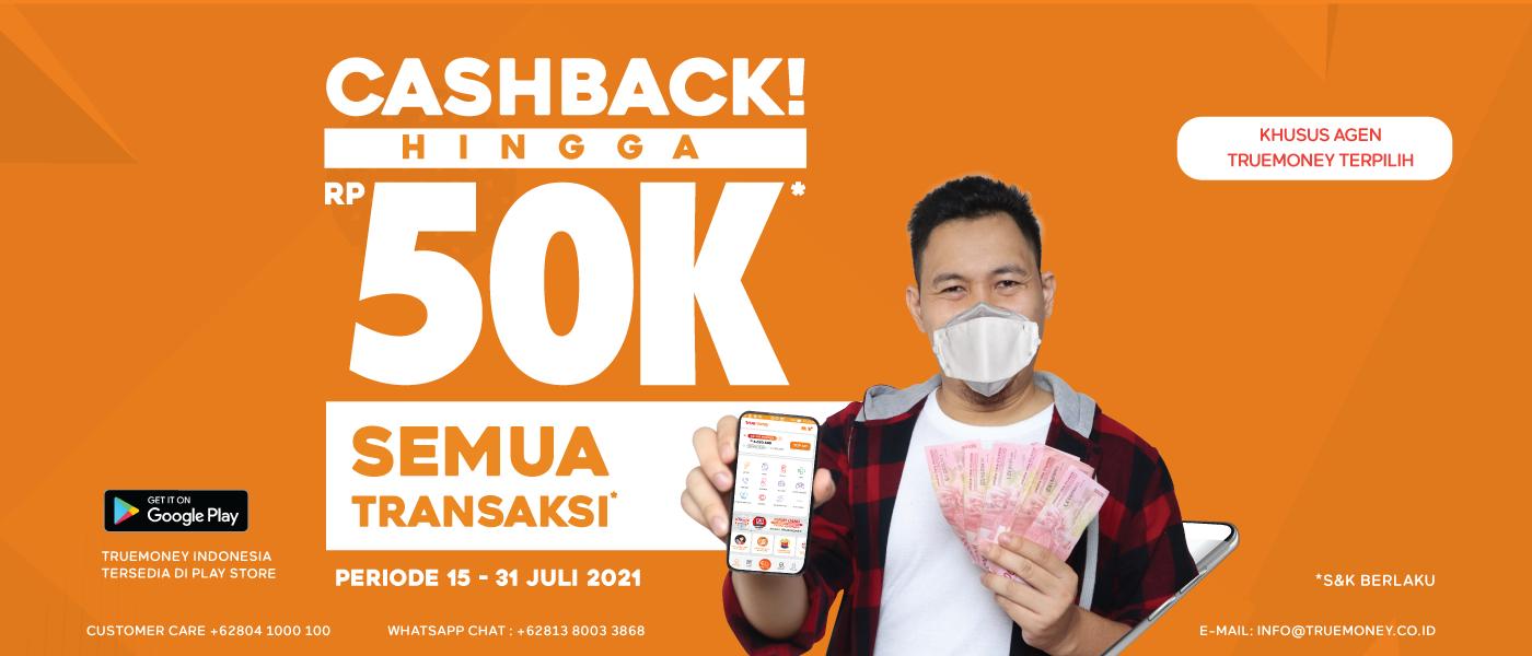 Cashback 50.000 UntukSemuaTransaksi
